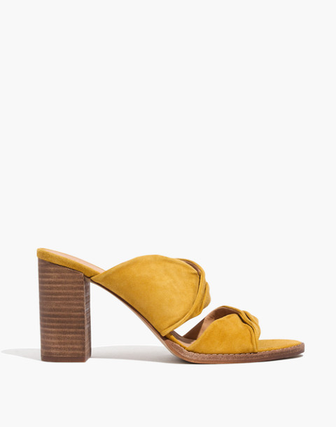 The Alexandria Mule in Suede in cider image 2