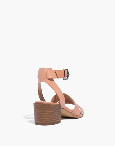 The Kate Sandal in antique coral image 3