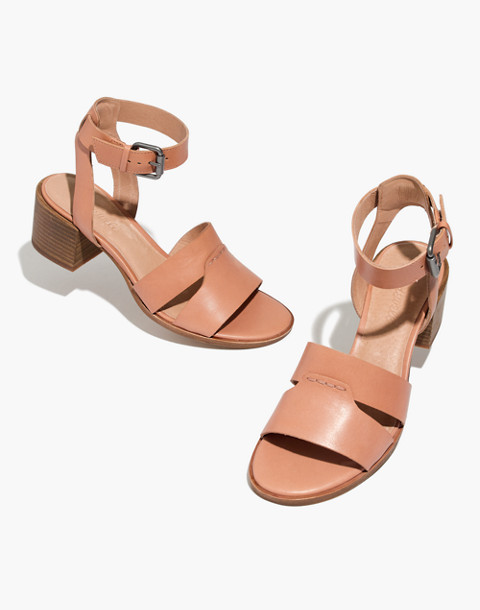 The Kate Sandal in antique coral image 1