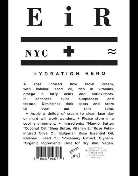 Eir NYC® Hydration Hero Facial Moisturizer in one color image 4