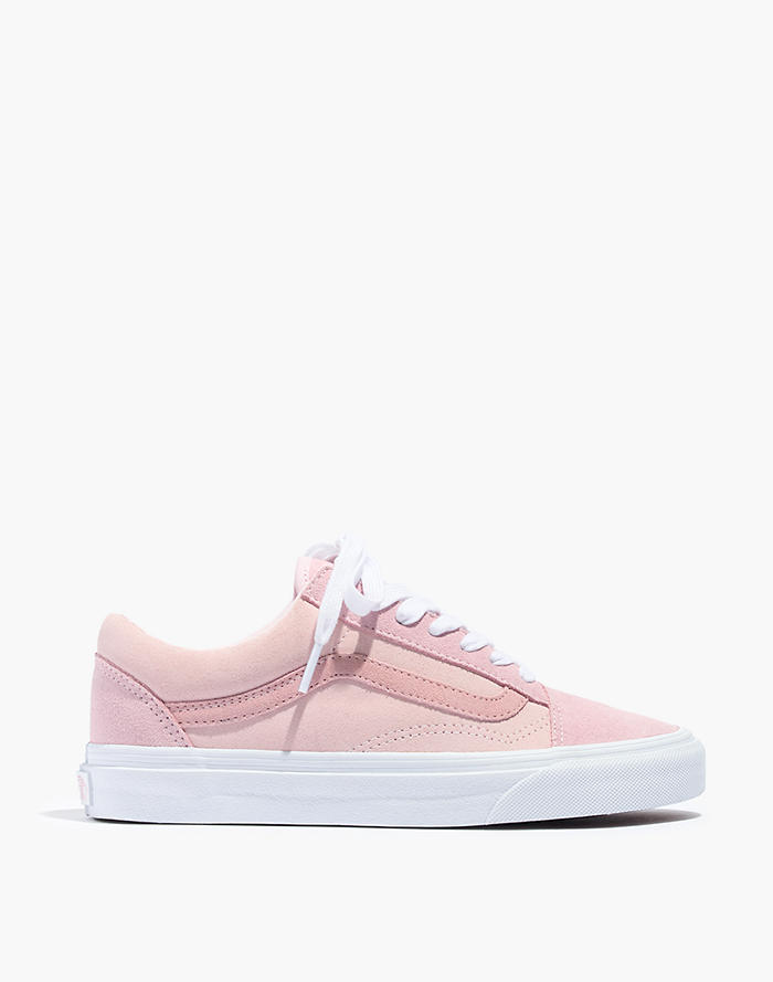 2ff0b7862cb6 Madewell x Vans® Unisex Old Skool Lace-Up Sneakers in Pink Colorblock Canvas
