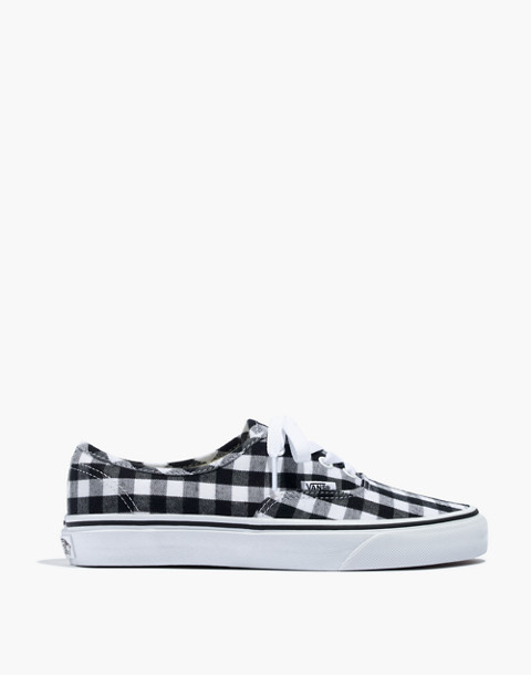 Vans® Unisex Authentic Lace-Up Sneakers in Gingham Check in gingham image 3
