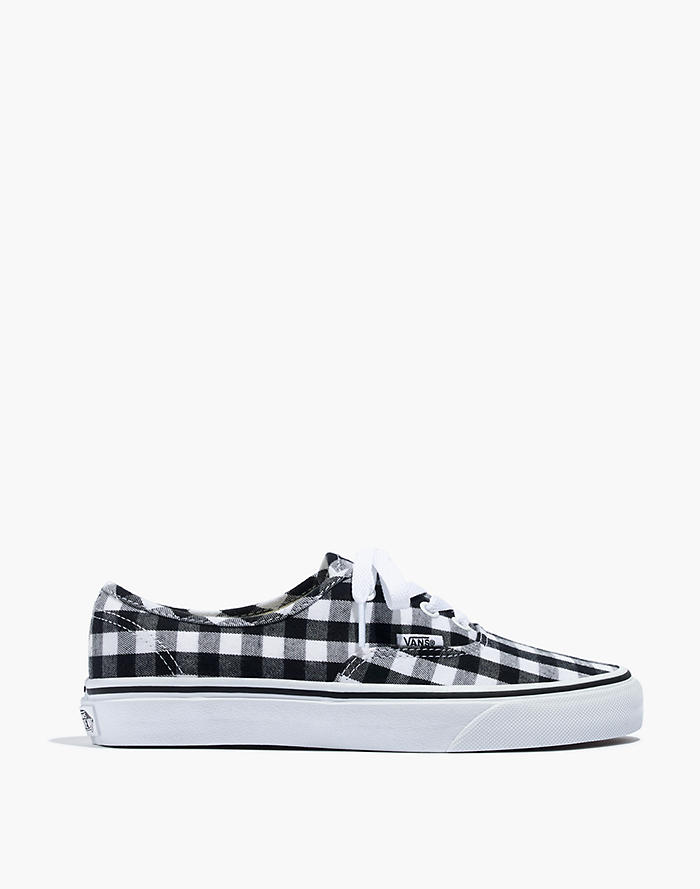 1feb54f5d1 Vans® Unisex Authentic Lace-Up Sneakers in Gingham Check