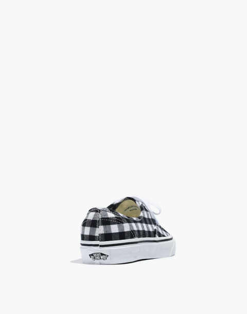 Vans® Unisex Authentic Lace-Up Sneakers in Gingham Check in gingham image 4