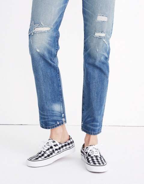 Vans® Unisex Authentic Lace-Up Sneakers in Gingham Check in gingham image 2