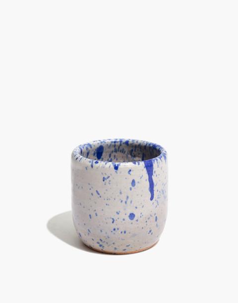 Settle Ceramics Tea Bowl in royal speckle image 1