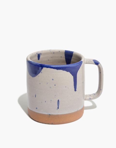 Settle Ceramics Cappuccino Mug in royal splash image 1