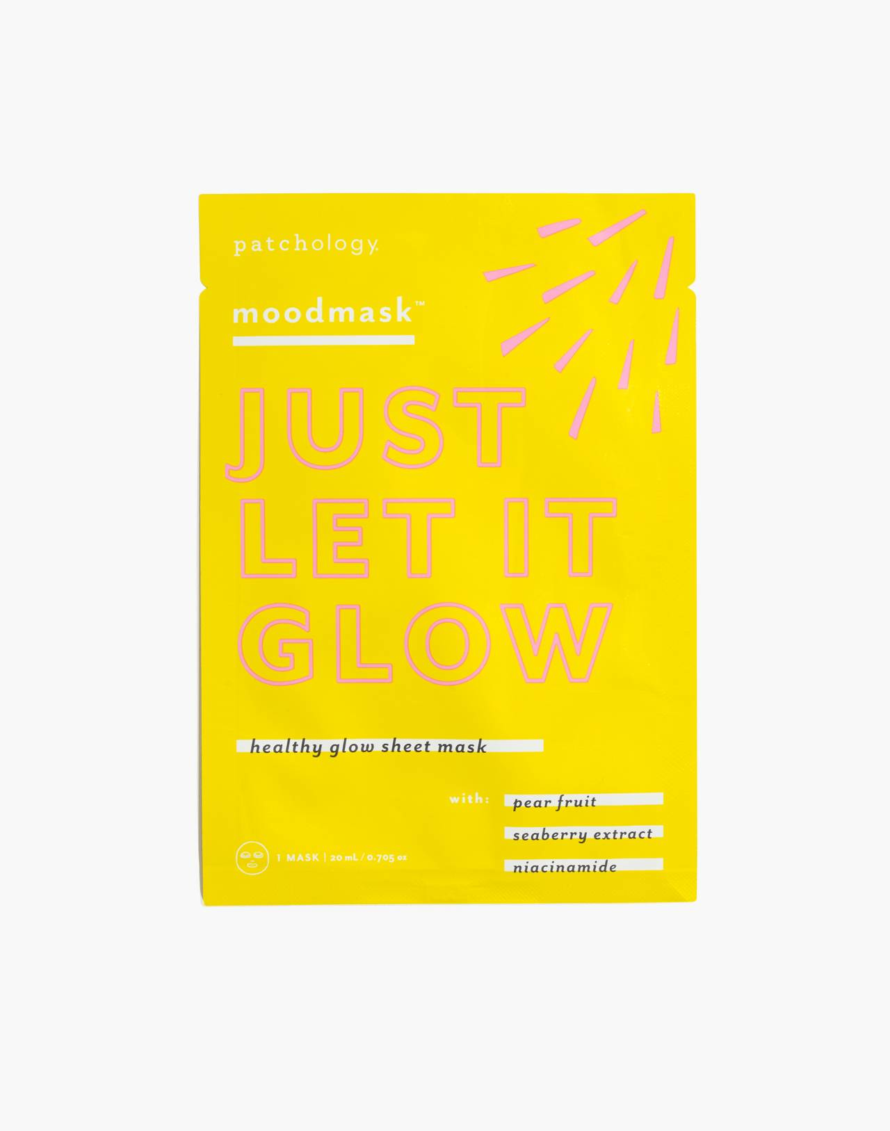 Patchology® Moodmask™ Just Let it Glow Sheet Mask in just let it glow image 1