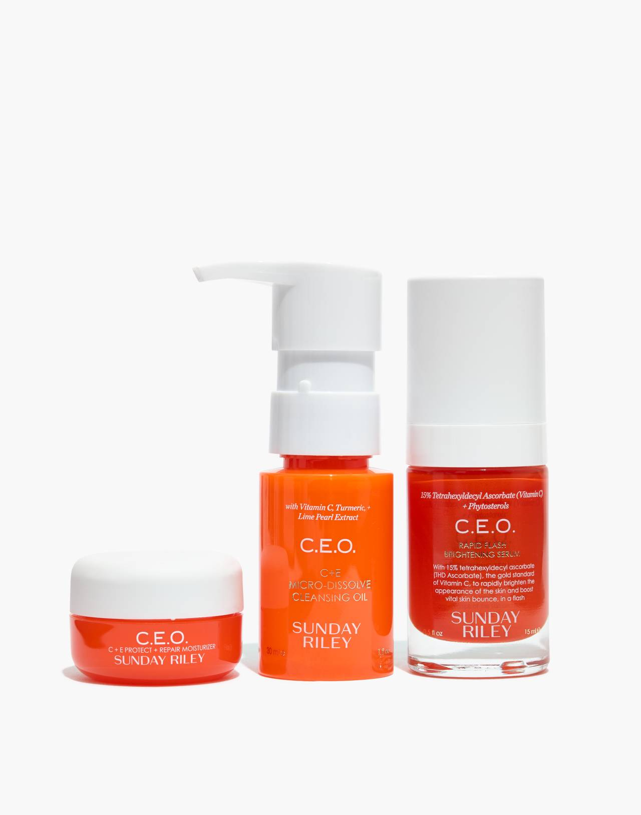 Sunday Riley® C.E.O. Vitamin C Kit in ceo kit image 1