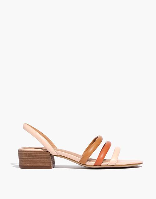 425fb60bf64 The Addie Slingback Sandal in Leather in azalea image 3