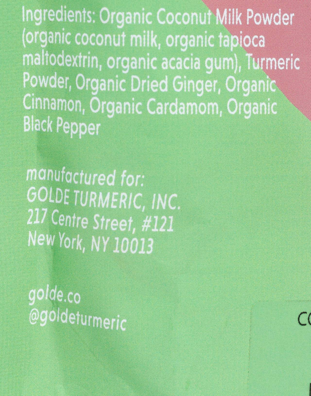 Golde™ Original Turmeric Tonic Blend in original image 2