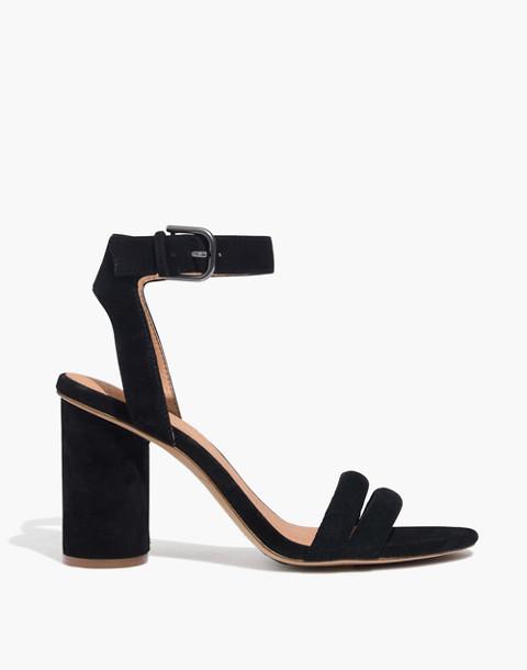 The Rosalie High-Heel Sandal in true black image 2
