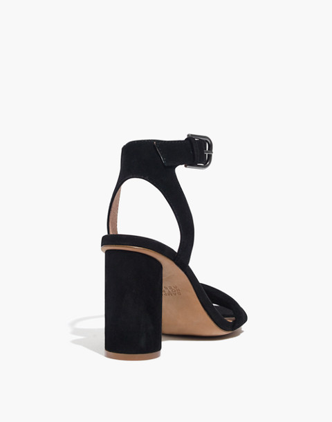The Rosalie High-Heel Sandal in true black image 3
