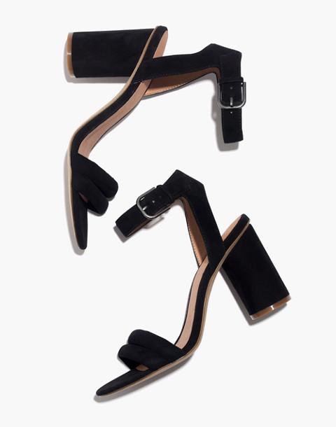 The Rosalie High-Heel Sandal in true black image 1