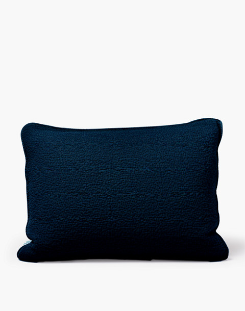 Coyuchi® Cascade Organic Cotton Matelasse Pillow Sham in natural image 1
