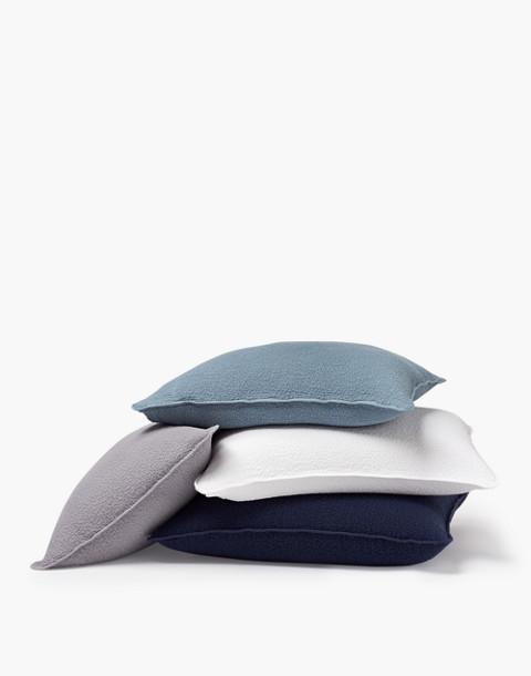 Coyuchi® Cascade Organic Cotton Matelasse Pillow Sham in white image 2