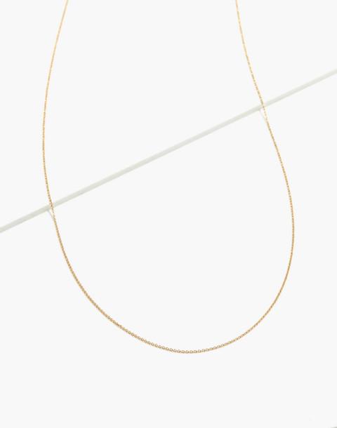"14k Gold 22"" Chain in 14k gold image 1"