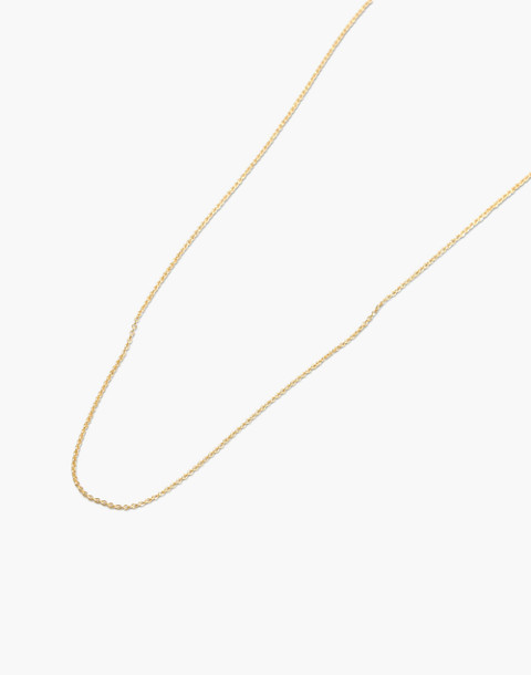 "14k Gold 16"" Chain in 14k gold image 1"