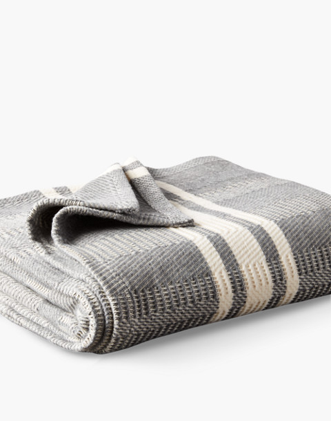Coyuchi® Cirrus Supersoft Organic Cotton Throw Blanket in gray image 1