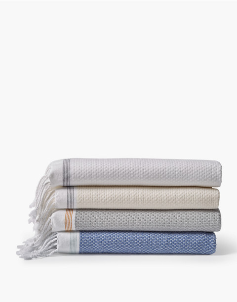 Coyuchi® Mediterranean Organic Cotton Six-Piece Towel Set in white image 2