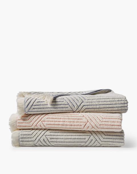 Coyuchi® Zuma Organic Cotton Beach Towel in blue image 2