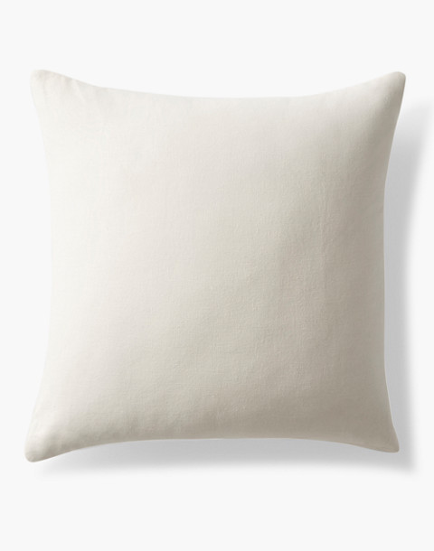 Coyuchi® Feather Pillow Insert in white image 1
