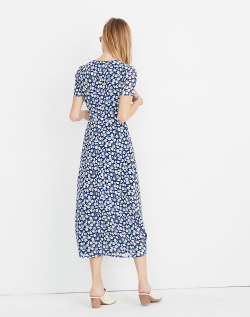 5b14ef682ef Wrap-Front Midi Dress in French Floral