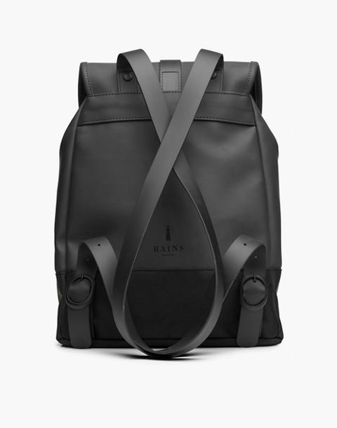 RAINS® Drawstring Backpack in black image 2