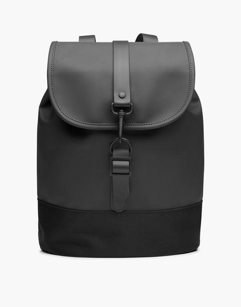 RAINS® Drawstring Backpack in black image 1