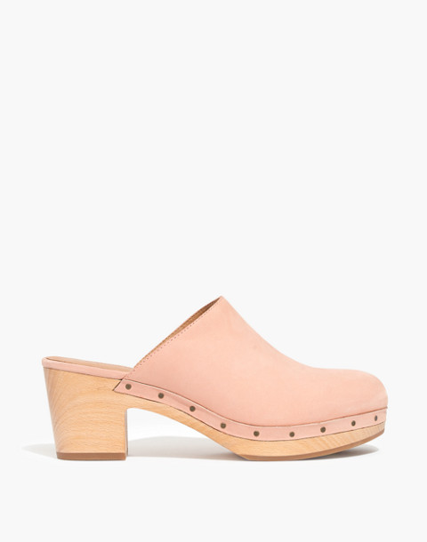 The Ayanna Clog in antique coral image 2