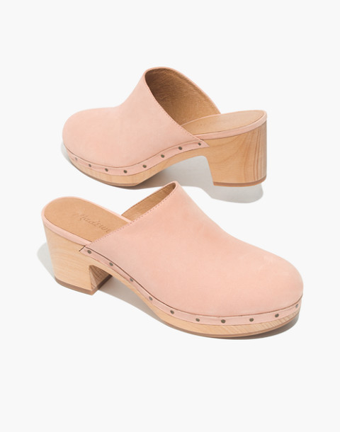 The Ayanna Clog in antique coral image 1