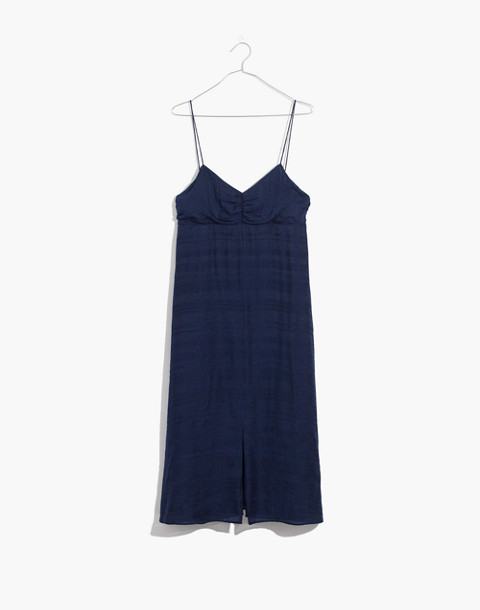 Tie-Back Cami Dress in nightfall image 4