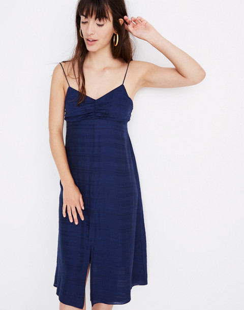 Tie-Back Cami Dress in nightfall image 1