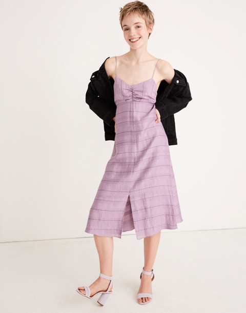 Tie-Back Cami Dress in serene lavender image 1