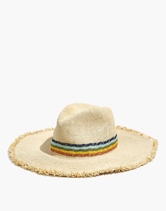 46f43b9dc2777 Madewell x Biltmore® Wide-Brimmed Rainbow Straw Hat