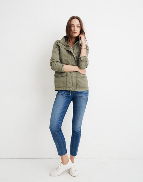 Passage Jacket in desert olive image 1