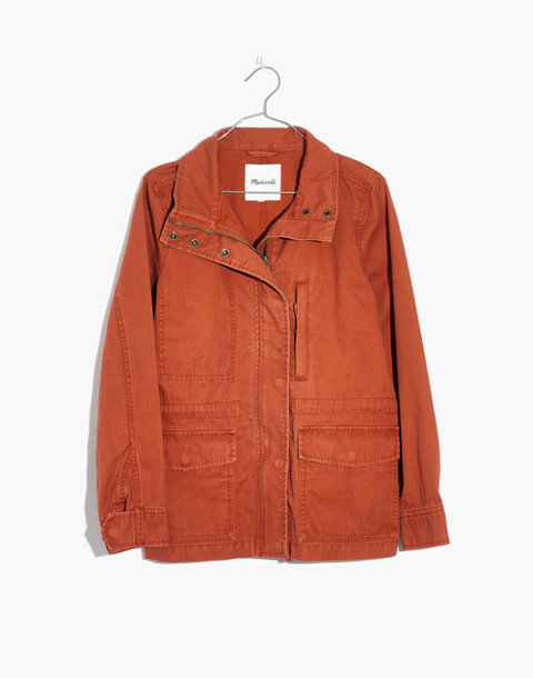Passage Jacket in afterglow red image 1