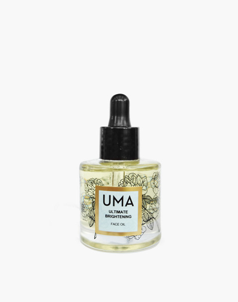 UMA® Ultimate Brightening Face Oil in one color image 1