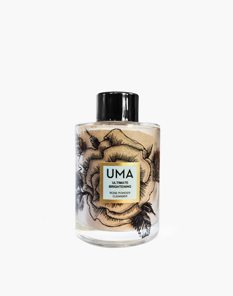 UMA® Ultimate Brightening Rose Powder Cleanser in one color image 1
