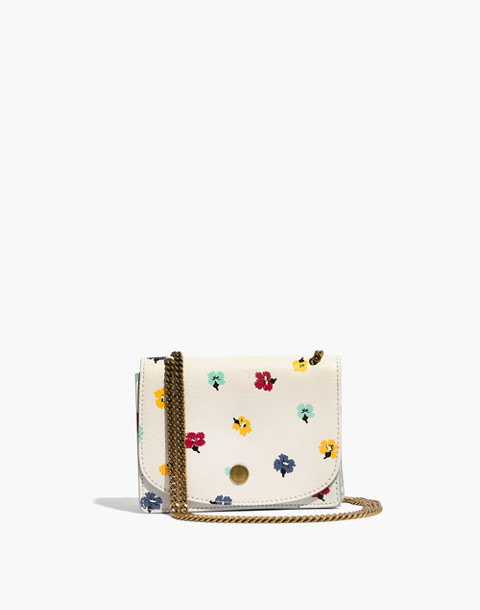 The Chain Crossbody Bag: Confetti Floral Edition by Madewell