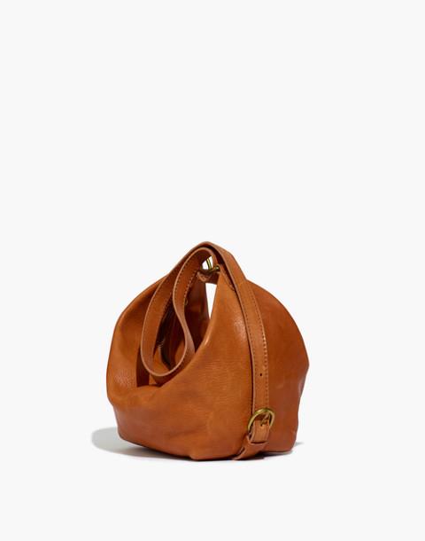 The Leather Sling Bag in english saddle image 1