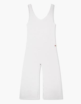 Lunya® Pima Sleep Romper in gray image 3