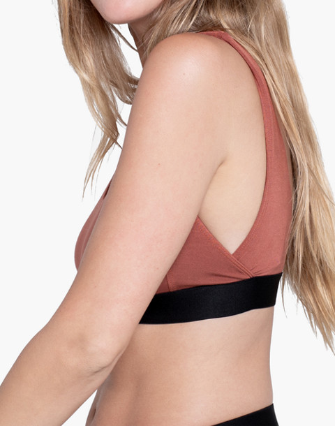 Lunya® Siro Well-Rounded Sleep Bralette in copper image 2