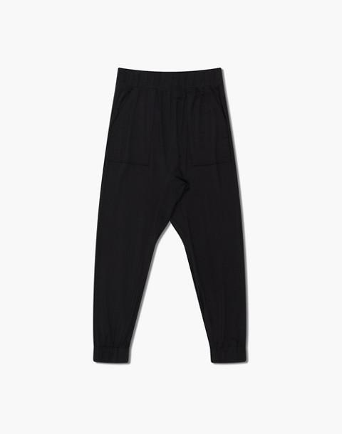 Lunya® Siro Draped Jogger Pants in black image 3