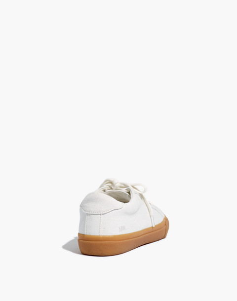 Women's Sidewalk Low-Top Sneakers in Monochrome Canvas in pale parchment image 4