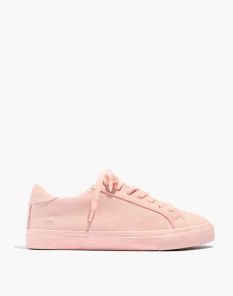 Women's Sidewalk Low-Top Sneakers in Monochrome Canvas in peach image 2