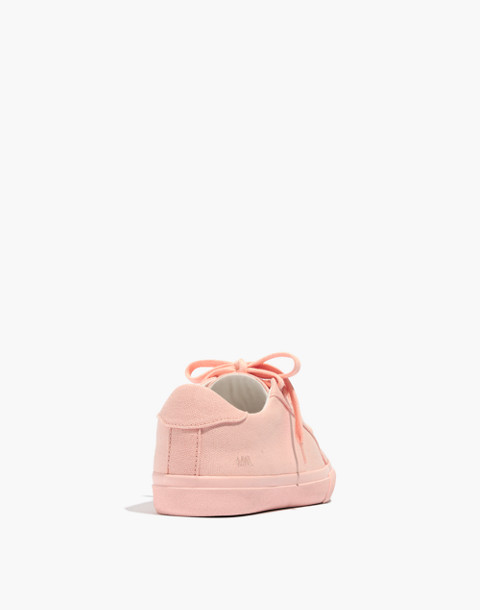 Women's Sidewalk Low-Top Sneakers in Monochrome Canvas in peach image 3