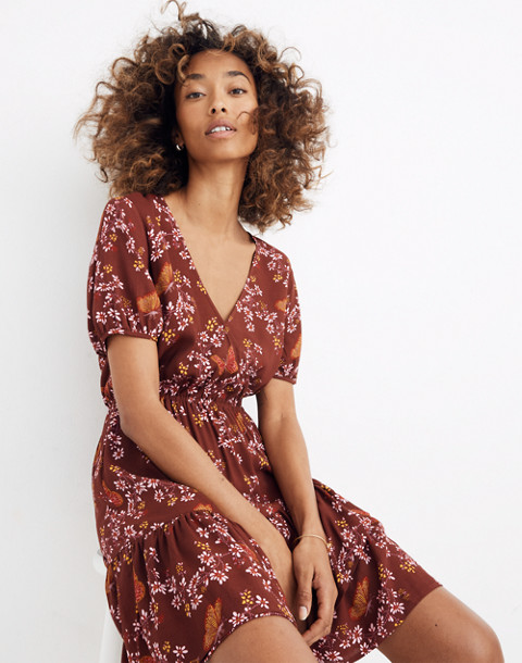f05e28489e2 MADEWELL. RUFFLE-WRAP DRESS ...