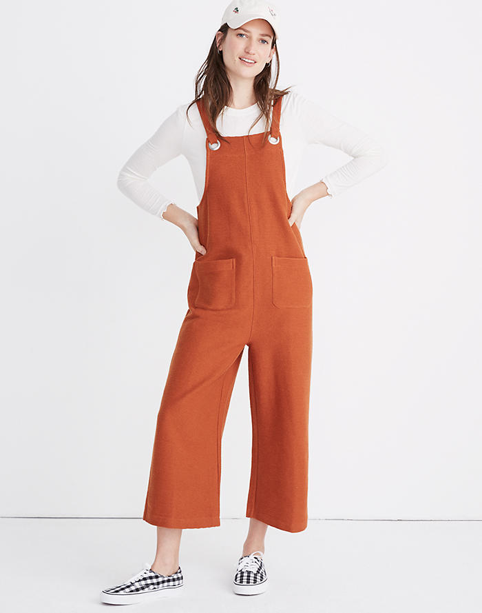 0123950bdac Texture   Thread Patch Pocket Overalls