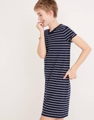 maxi dress donkerblauw